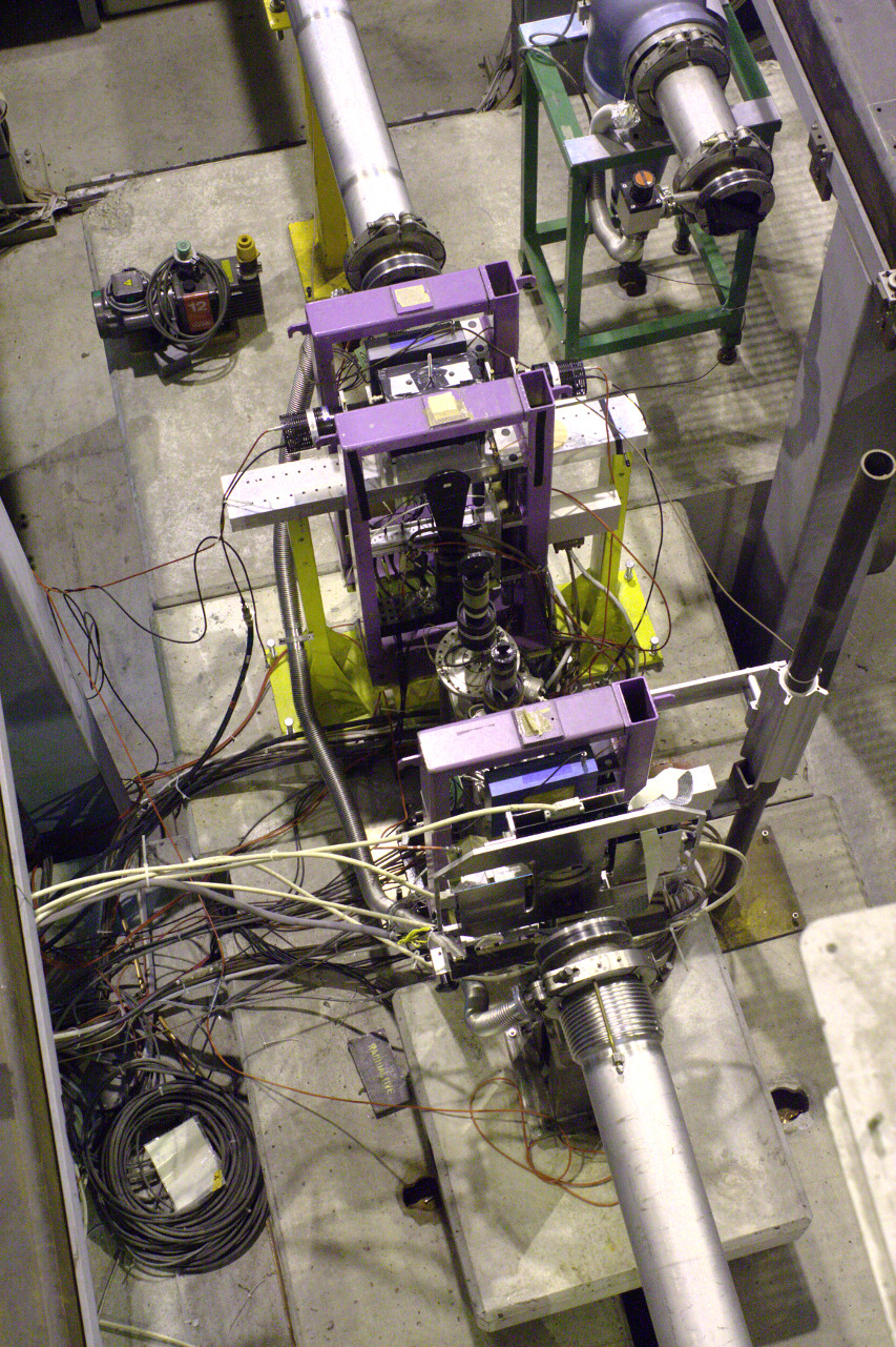 AIr transition in a beamline