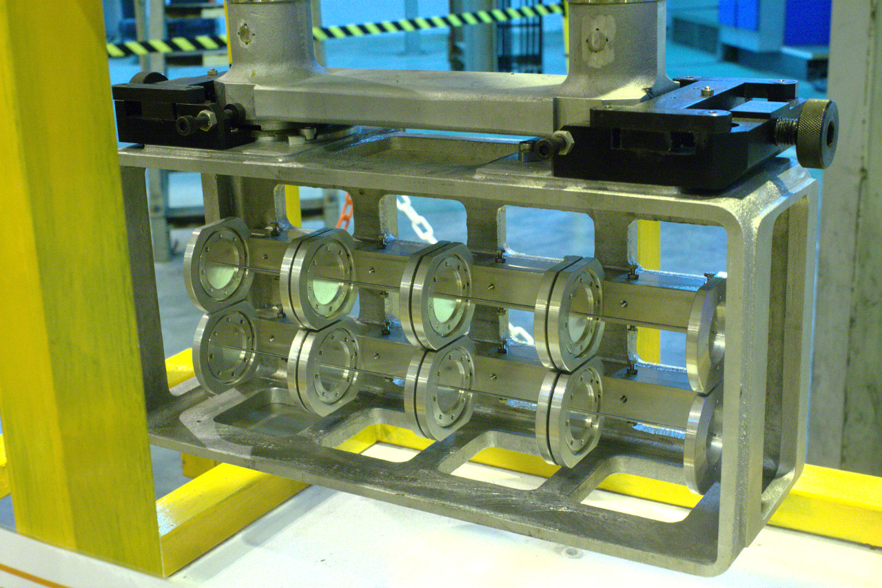 Beryllium rod target