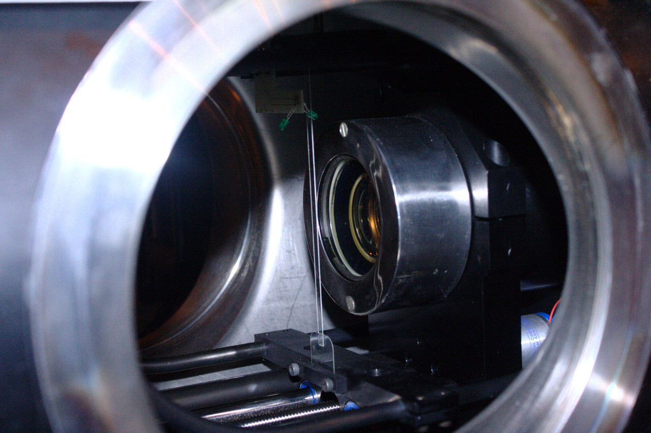 An internal picture of the filament scintillator