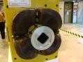 Beam correction magnet end