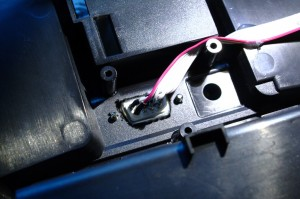 ISP connector (D-sub 9) in the back of the transmitter