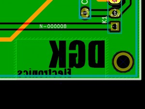DGK electronics logo on KiCAD
