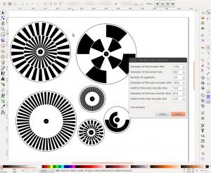 Screenshot of my extension