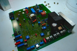Ascom SMPS control board top-side