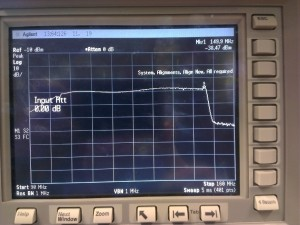 0-50MHz conversion sweep, input -30dBm
