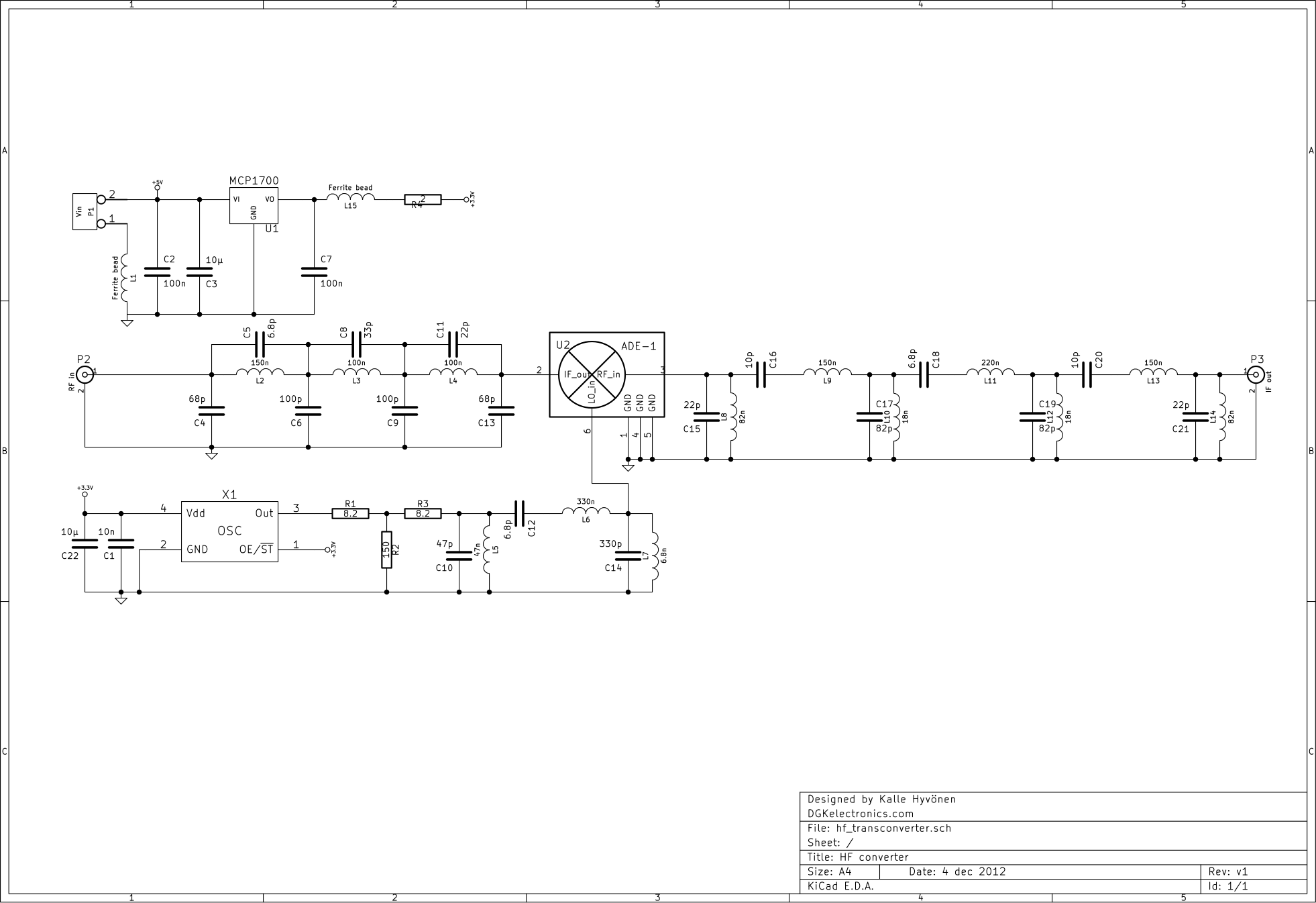 rtl sdr schematic with Hf Converter For Sdr Radios on Kenwood Ts 2000 1st If Tap For Panadapter moreover Review as well Beaglebone Black Block Diagram together with Doorbell Circuit Diagram additionally Schematic For.