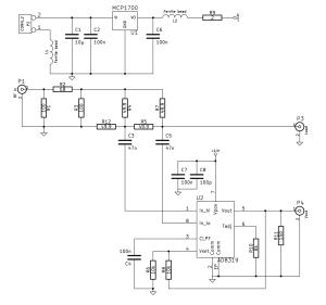 SWR meter schematic