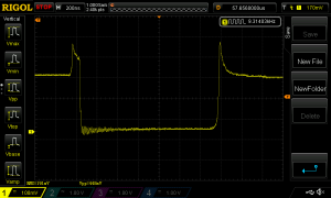 Measurement of a FET D-S